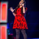 Sarah Eden-Winn singing 'One Nightly Only' by Jennifer Hudson – The Voice UK Season 3