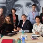W1A Episode Guide, BBC Cast List and Hugh Bonneville Video Preview